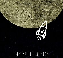 Fly me to the moon by mtheb