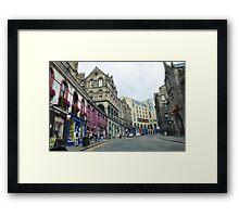 Bow Street Framed Print
