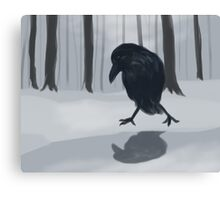 Foreign Raven Canvas Print