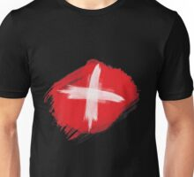 Swiss Flag, Switzerland Flag Unisex T-Shirt