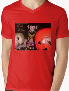 Jolly Chimp Gorges on  Candy Tee Mens V-Neck T-Shirt