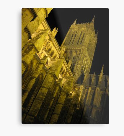 Cathedral Organ Metal Print