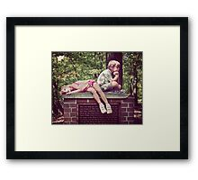 Had Enough! Framed Print