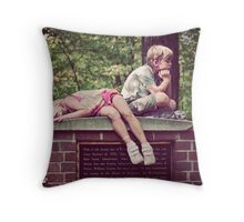 Had Enough! Throw Pillow