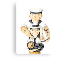 Family Portrait I Canvas Print