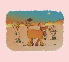 Nosey lioness Kids Tee