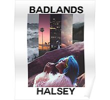 BADLANDS W/ TEXT Poster