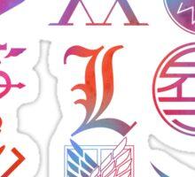 Anime Logos Sticker