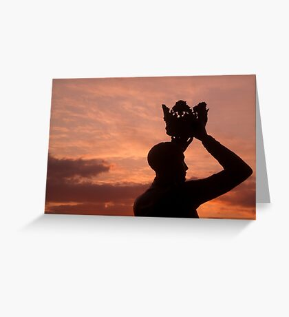 Prince Hal and the Sunset Greeting Card