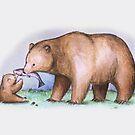 Bear & Cub by Katie Corrigan