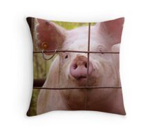 Hi, How Are Ya? Throw Pillow