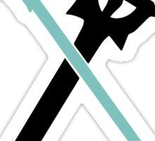 sword art online kirito asuna swords anime manga shirt Sticker