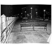 Empty at night Poster