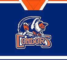 Bakersfield Condors Away Jersey by Russ Jericho