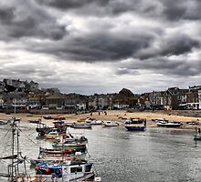 St ives boats by Mike Higgins