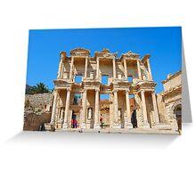 Celsus Library, Ephesus Greeting Card