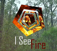 I see fire cover by Jackson Bourke