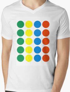 Twister Mens V-Neck T-Shirt