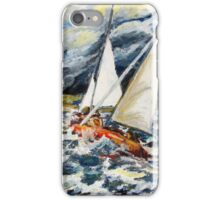 Stormy Way Home iPhone Case/Skin