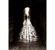 Old Town Alley Photographic Print
