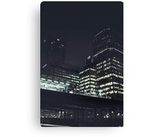 Night Time London Canvas Print