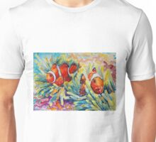 Clownfish In Their Paradise Unisex T-Shirt
