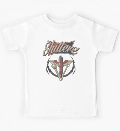Large Butt Plug with wings Kids Tee