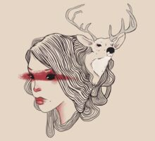 deer girl by lunaticpark