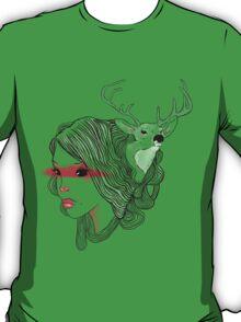 deer girl T-Shirt