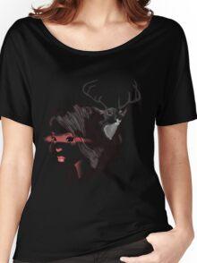 deer girl Women's Relaxed Fit T-Shirt
