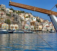 Gialos harbour view by Tom Gomez