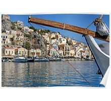 Gialos harbour view Poster