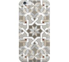 Geometric Pattern - Oriental Design Abstract 1 iPhone Case/Skin