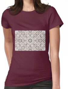 Geometric Pattern - Oriental Design Abstract 1 Womens Fitted T-Shirt