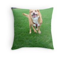 Loves Ya Me Throw Pillow