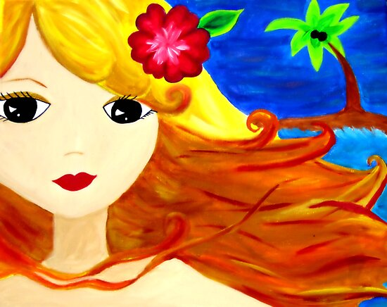 aloha luv chick by sara hubbell