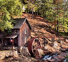 Gresham Mill in October by © Bob Hall