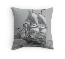 Full Sail Throw Pillow