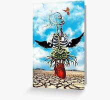 The weight of My Heart  Greeting Card