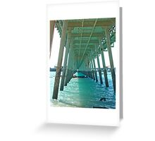 Under the Jetty,  Broome,  Western Australia Greeting Card