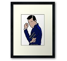 Moriarty Was Real... Framed Print