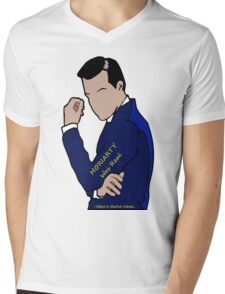 Moriarty Was Real... Mens V-Neck T-Shirt