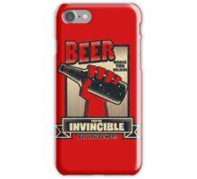 Not Invincible! iPhone Case/Skin