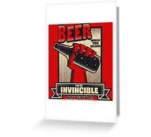 Not Invincible! Greeting Card