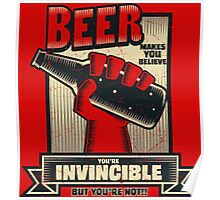 Not Invincible! Poster
