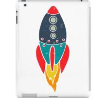 Space Rocket iPad Case/Skin