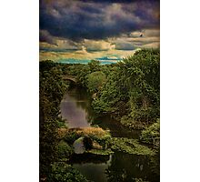 Dark Skies Over The Avon Photographic Print