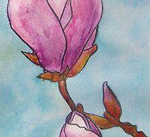Magnolias XIX by Alexandra Felgate