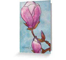 Magnolias XIX Greeting Card
