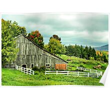 Rural Vermont Gem Poster